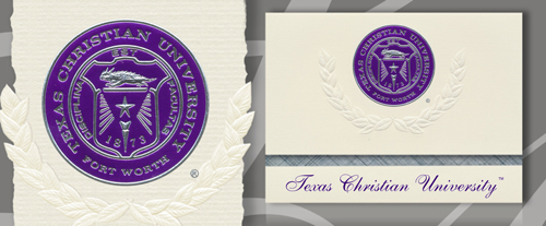 Texas Christian University Graduation Announcements