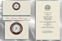 Texas Southern University Graduation Announcements