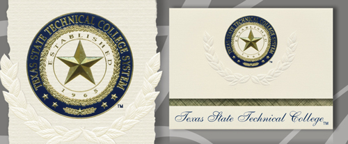 Texas State Technical College Graduation Announcements