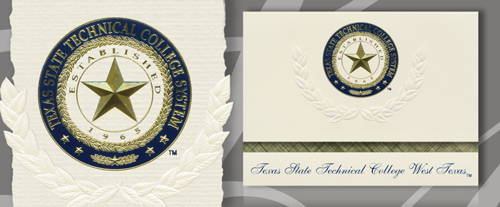 Texas State Technical College West Texas Graduation Announcements