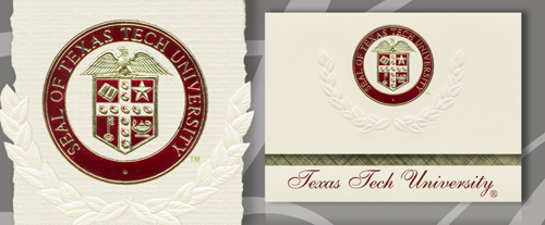 Texas Tech University Graduation Announcements