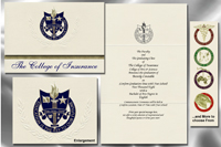 The College of Insurance Graduation Announcements