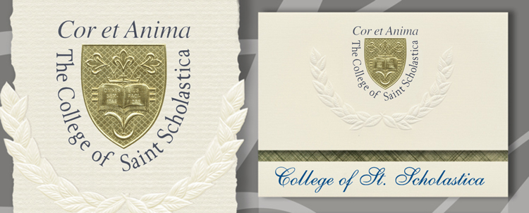 The College of St. Scholastica Graduation Announcements