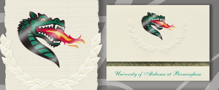 The University of Alabama at Birmingham Graduation Announcements