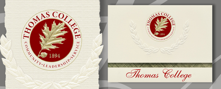 Thomas College Graduation Announcements