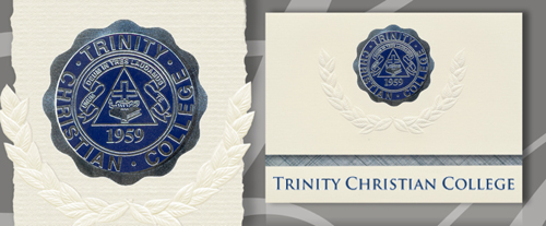 Trinity Christian College Graduation Announcements
