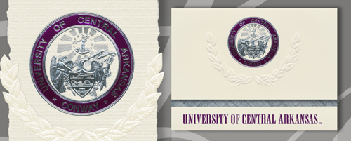 University of Central Arkansas Graduation Announcements