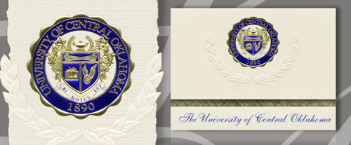 University of Central Oklahoma Graduation Announcements