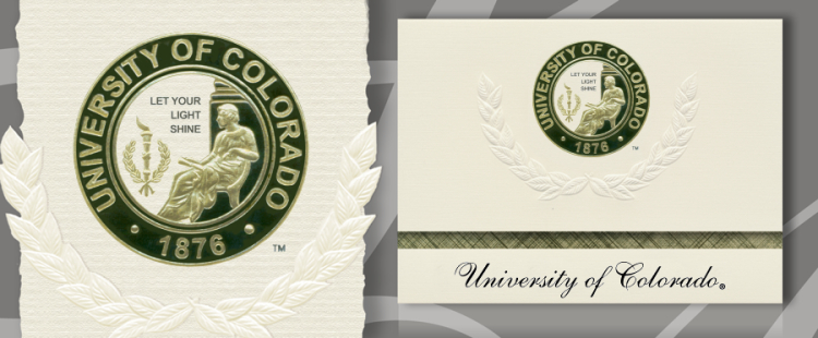 University of Colorado Colorado Springs Graduation Announcements