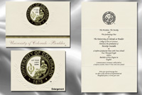 University of Colorado Boulder Graduation Announcements