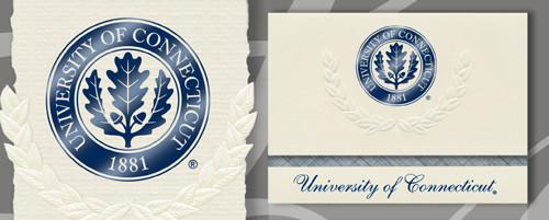 University of Connecticut Graduation Announcements