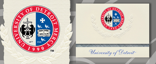 University of Detroit Mercy Graduation Announcements