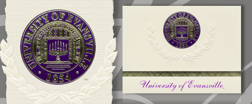 University of Evansville Graduation Announcements
