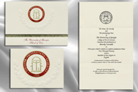 graduation announcements university of georgia school of law graduation announcements - Law School Graduation Invitations