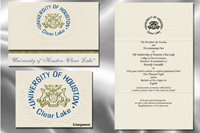 University of Houston - Clear Lake Graduation Announcements