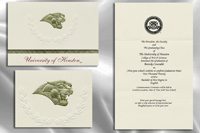 University of Houston Graduation Announcements