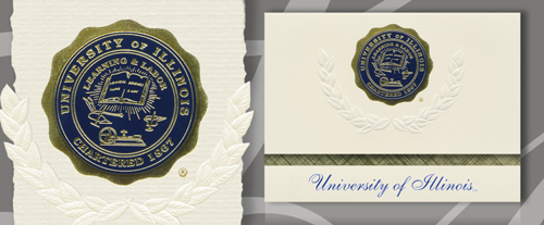 University of Illinois at Urbana-Champaign Graduation Announcements