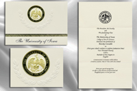 Platinum Style University of Iowa Graduation Announcement