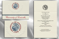 Platinum University-of-Louisville Graduation Announcements
