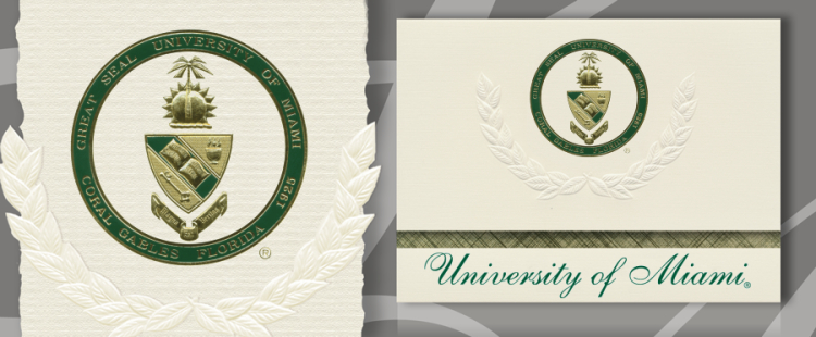 University of Miami School of Medicine Graduation Announcements