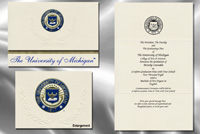 University of Michigan Graduation Announcements