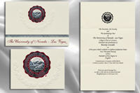 University Of Nevada Las Vegas Graduation Announcements University Of Nevada Las Vegas Graduation Invitations Graduation announcements are available as a package with your cap and gown or can be if you cannot participate in the ceremony, contact the fsu bookstore to request a refund prior to your. of nevada las vegas graduation invitations
