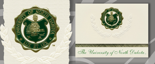 University of North Dakota Graduation Announcements