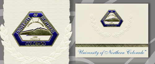 University of Northern Colorado Graduation Announcements