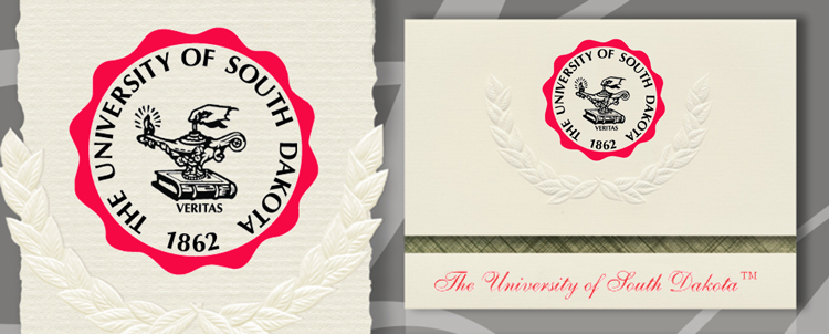 University of South Dakota Graduation Announcements