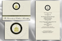 University of Southern Mississippi Graduation Announcements