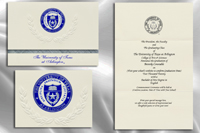 Platinum Style University of Texas at Arlington Graduation Announcement