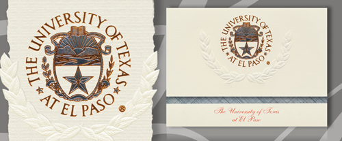 University of Texas at El Paso Graduation Announcements