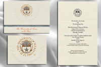 Platinum Style University of Texas at El Paso Graduation Announcement