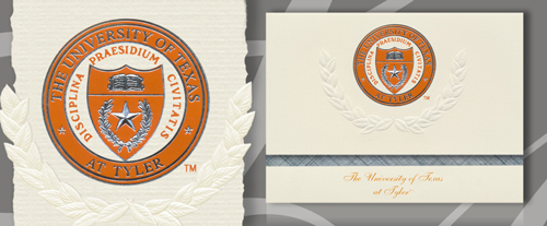 University of Texas at Tyler Graduation Announcements