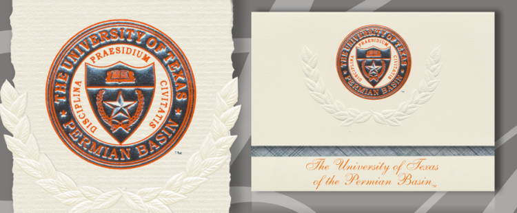 University of Texas of the Permian Basin Graduation Announcements