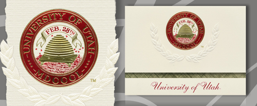 University of Utah Graduation Announcements