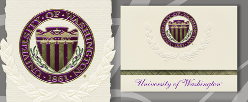 University of Washington Graduation Announcements