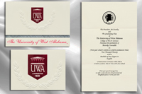 University of West Alabama Graduation Announcements