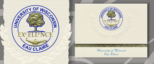 University of Wisconsin - Eau Claire Graduation Announcements