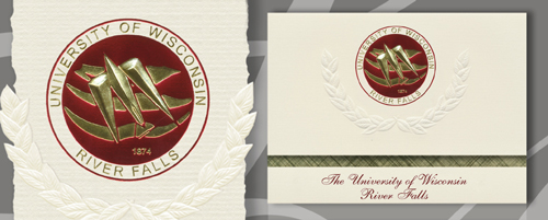 University of Wisconsin - River Falls Graduation Announcements