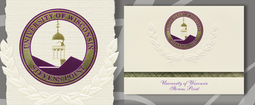 University of Wisconsin - Stevens Point Graduation Announcements