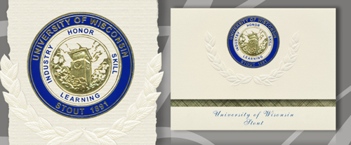 University of Wisconsin - Stout Graduation Announcements