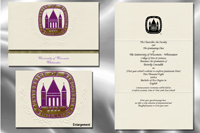 University of Wisconsin - Whitewater Graduation Announcements