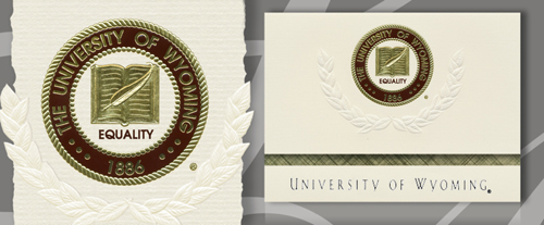 University of Wyoming Graduation Announcements