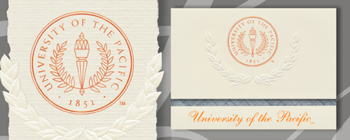 University of the Pacific Graduation Announcements