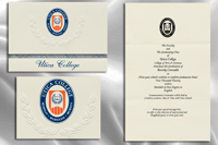Platinum Style Utica College Graduation Announcement