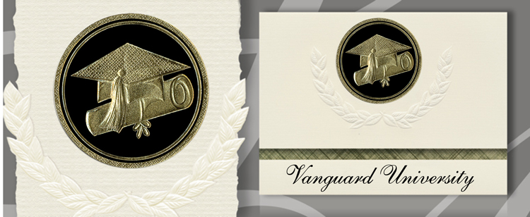 Vanguard University Graduation Announcements