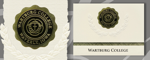 Wartburg College Graduation Announcements