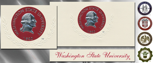 Platinum Washington-State-University Graduation Cards