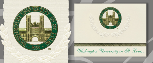 Washington University in St. Louis Graduation Announcements